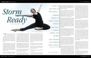 Living Magazine Article on Makenzie