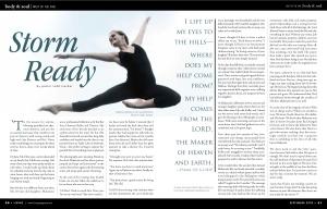 Living Magazine Article on Makenzie